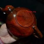 ấm chà gỗ huỳnh đàn đỏ