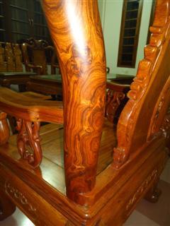 gỗ sưa đỏ, bàn ghế gỗ sưa đỏ