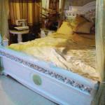 giường ngủ gỗ sưa đỏ